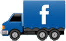 facebook trucking icon