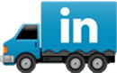 LinkedIn trucking icon